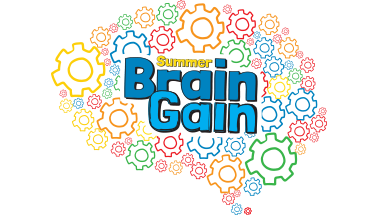 Summer Brain Gain logo